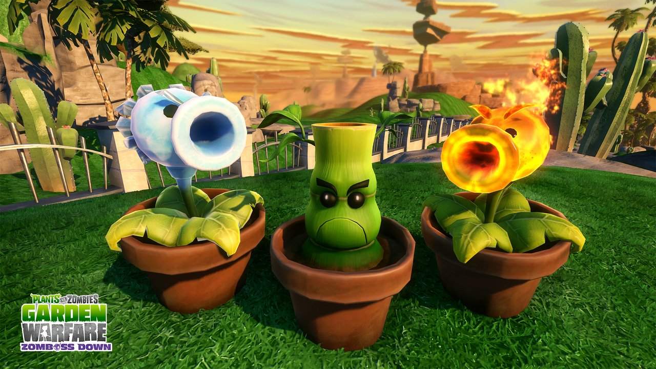 Plants Vs Zombies Garden Warfare Para Xbox One 3djuegos