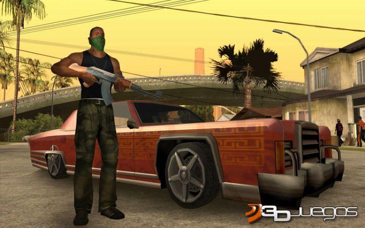 Grand Theft Auto: San Andreas - Juegos de autos - Juegos