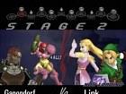 Pantalla Super Smash Bros. Melee