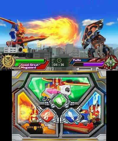 Imgenes de Power Rangers Megaforce para 3DS  3DJuegos