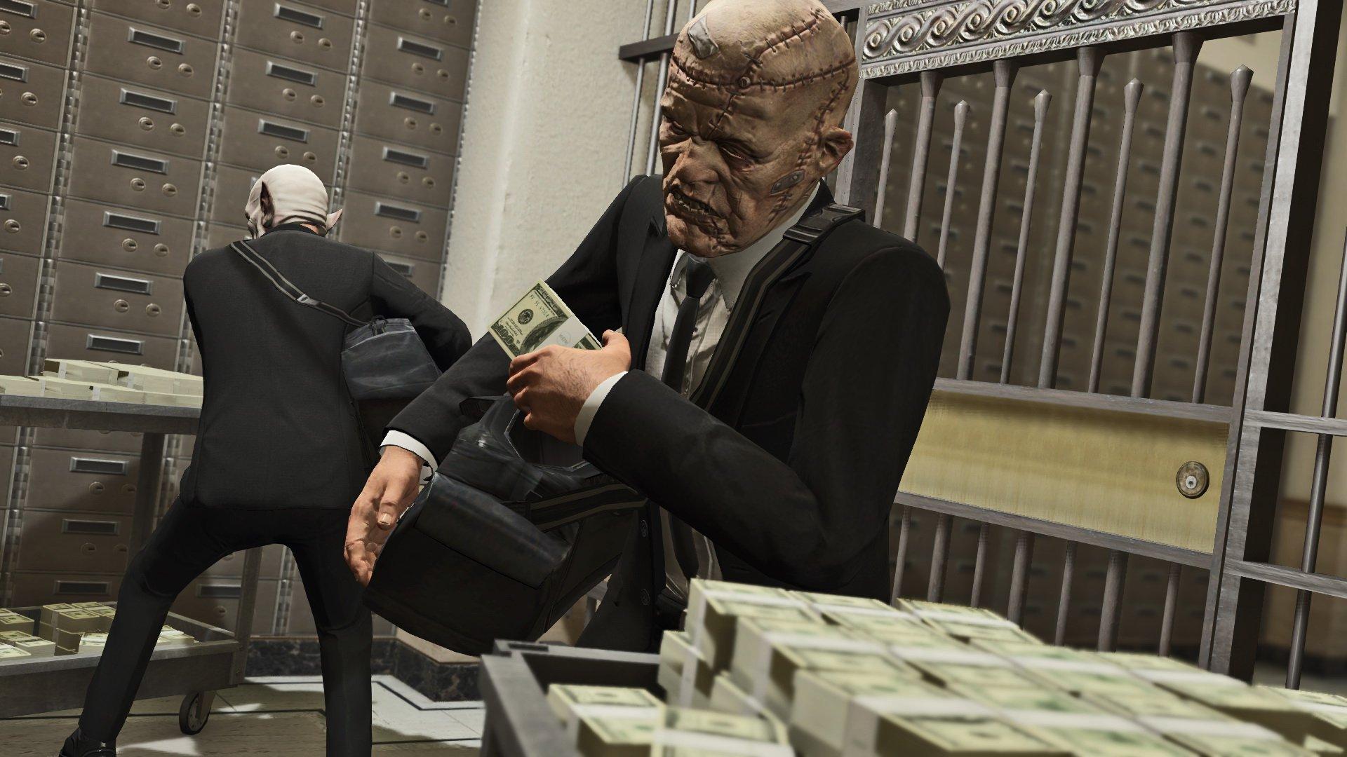 La fábula del ladrón de bancos