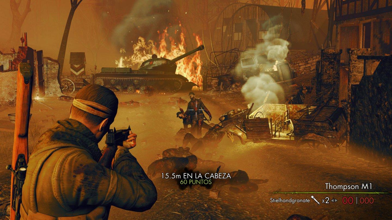 Sniper Elite Nazi Zombie Army 2 - An�lisis