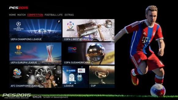 PES 2015 (PlayStation 4)