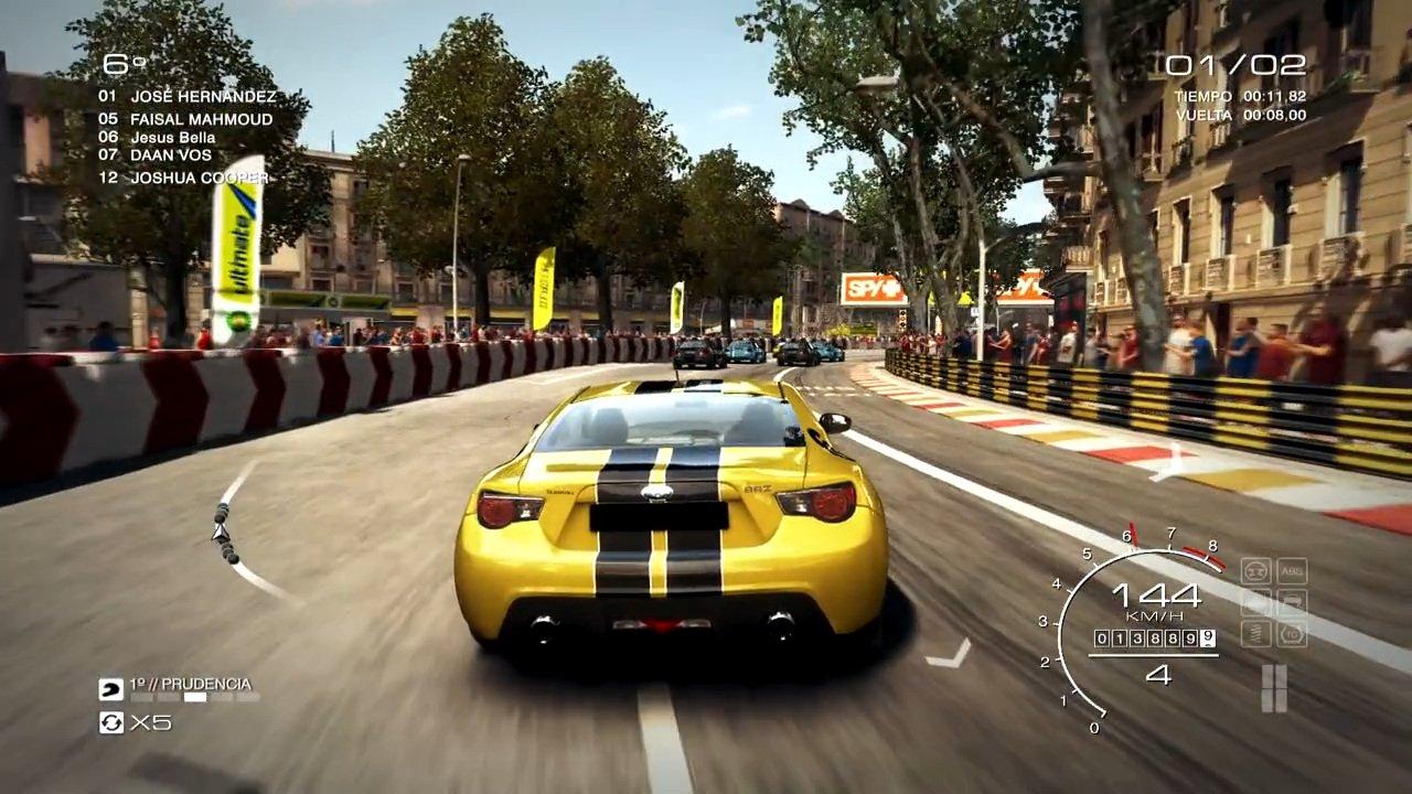 Скрин из игры race driver: grid