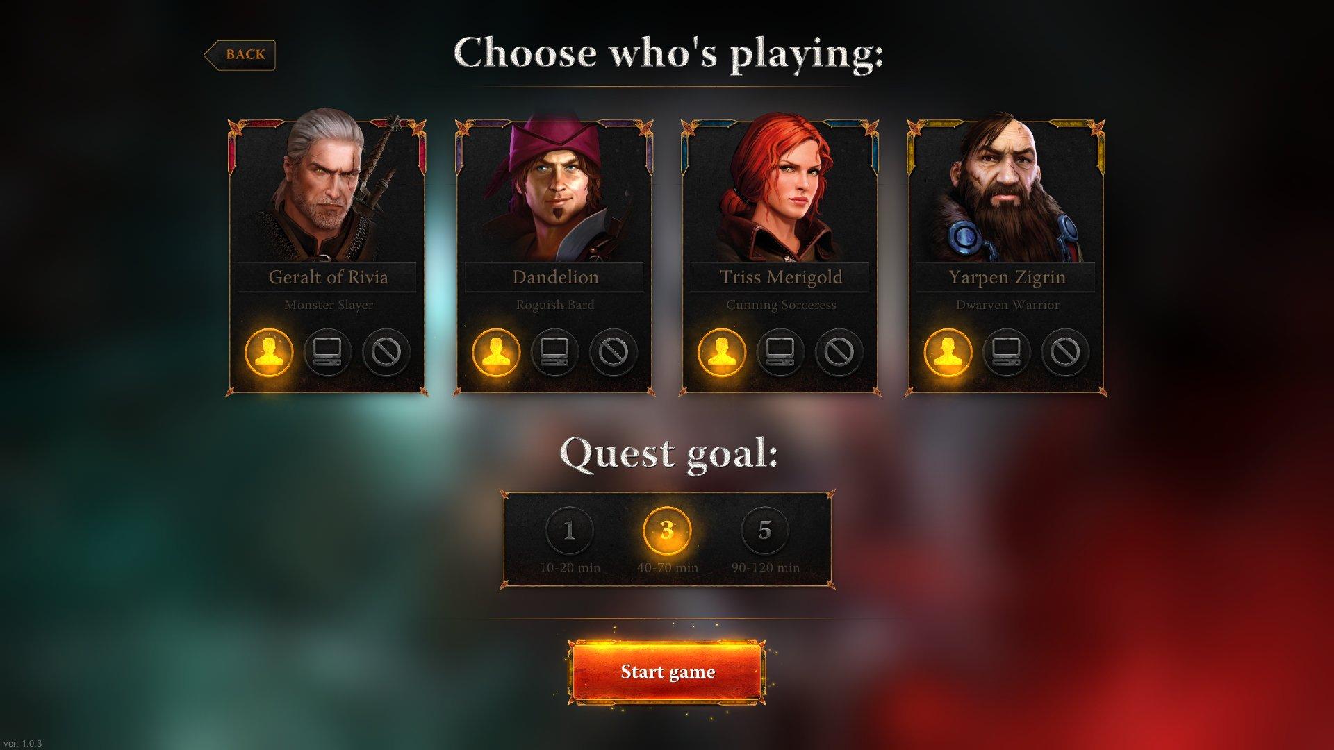 An lisis de the witcher adventure game para pc 3djuegos for The witcher juego de mesa