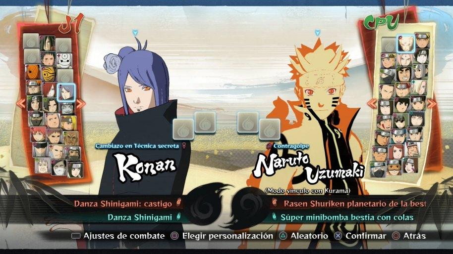 Naruto Ultimate Ninja Storm 4 análisis