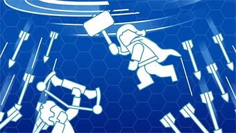 Video LEGO Marvel Vengadores, Juego en Equipo: Thor y Ojo de Halcón