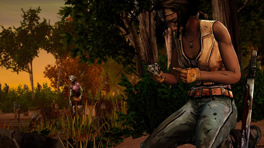 The Walking Dead Michonne PS3