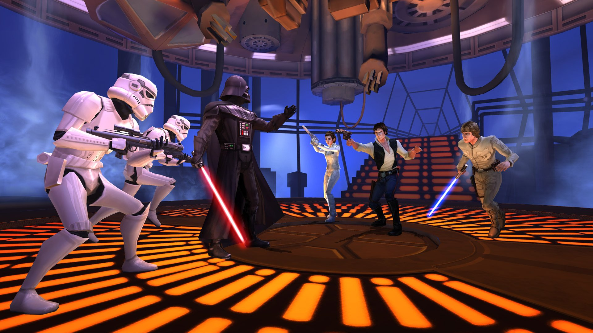star wars heroes and villans Star wars battlefront ii puts you in control of a host of heroes and villains from  across the star wars universe whether you're twirling rey's.