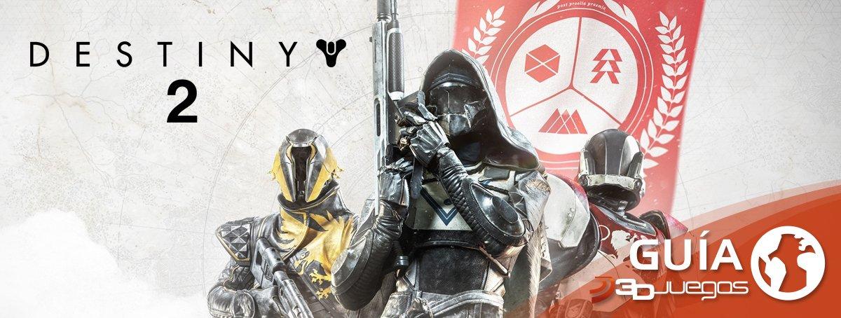 Guía Destiny 2