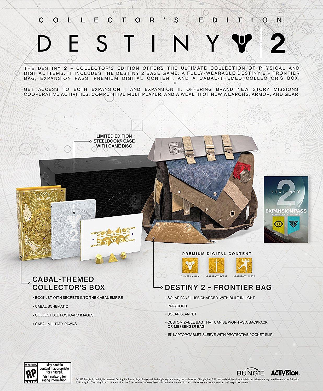 Resultado de imagen para edicion coleccionista destiny 2