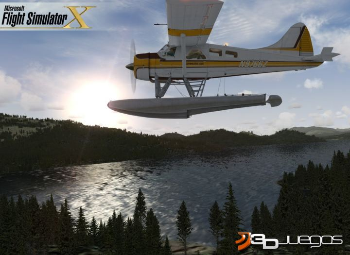Microsoft Flight Simulator X - An�lisis