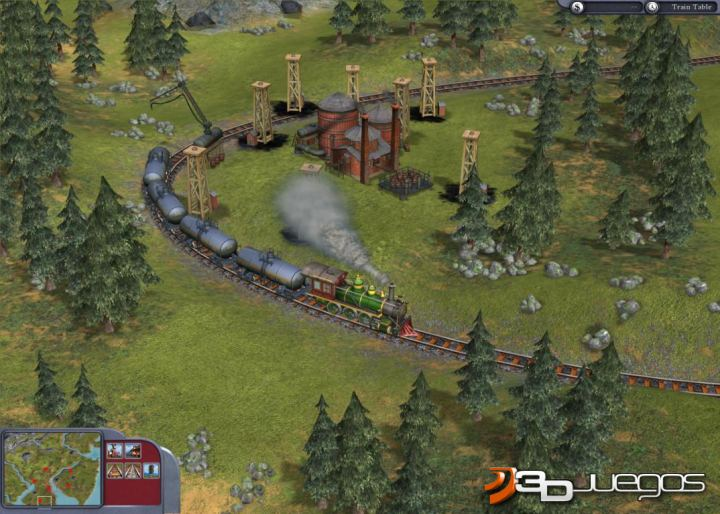 Imgenes de Sid Meiers Railroads para PC  3DJuegos