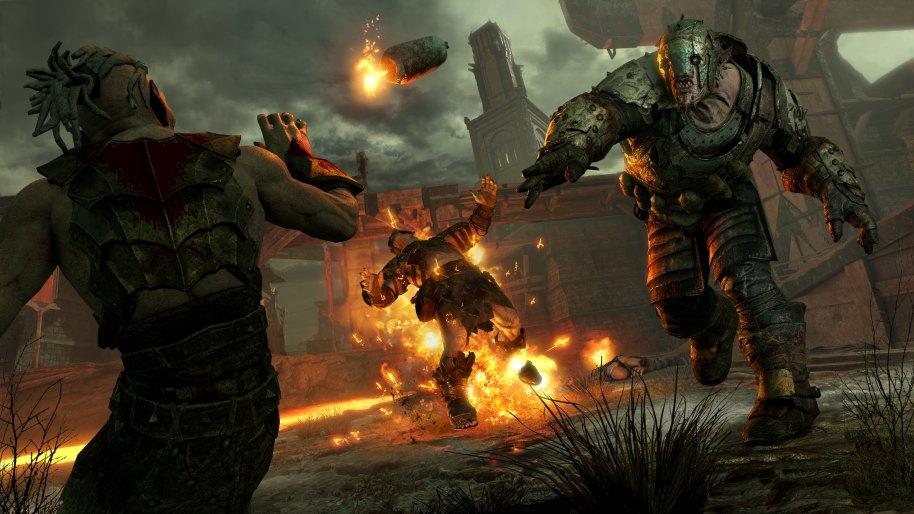 La Tierra Media Sombras de Guerra PS4