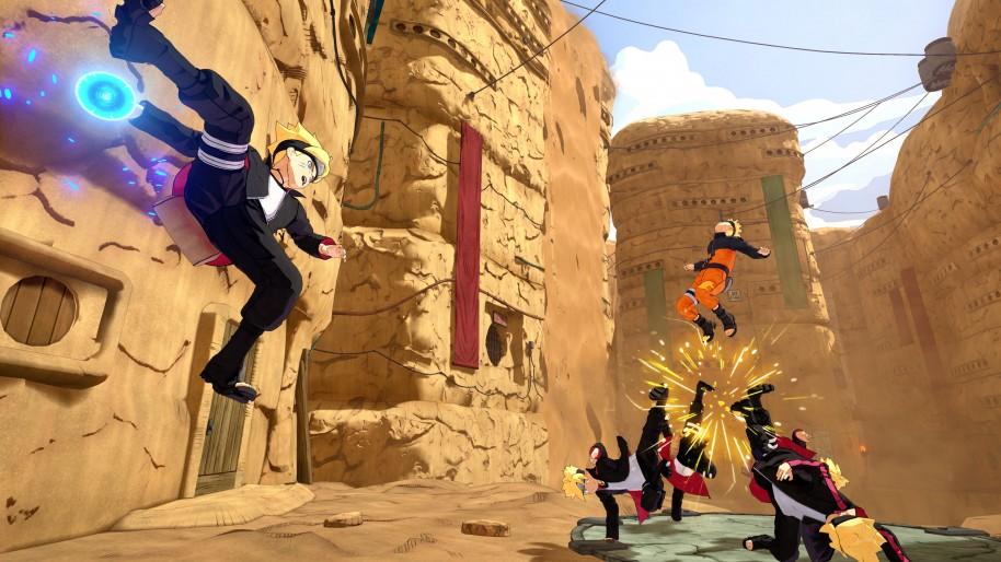 Naruto to Boruto Shinobi Striker: Peleas ninja por equipos en Naruto to Boruto: Shinobi Striker