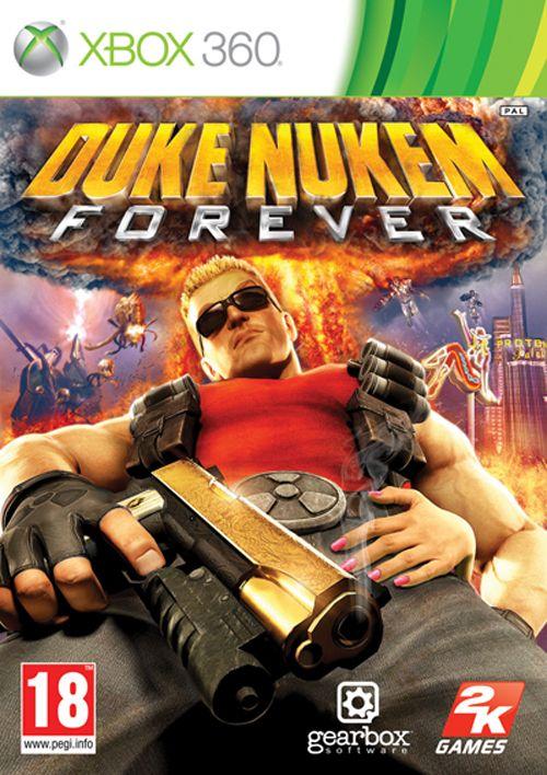 Car�tula de Duke Nukem Forever