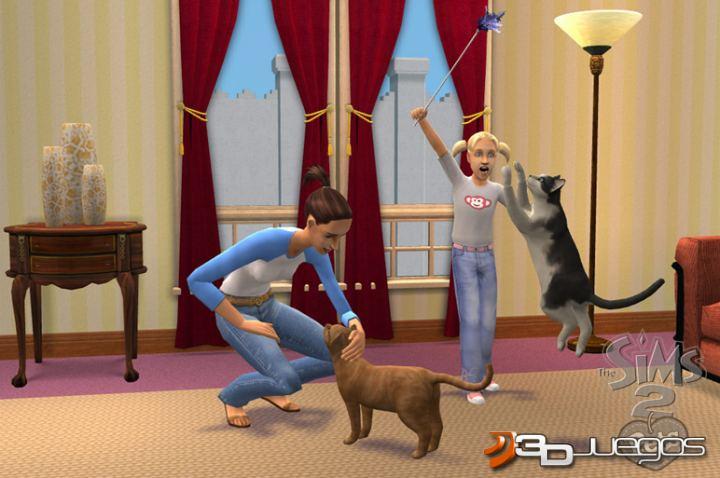 los sims 2 mascotas de la ds:
