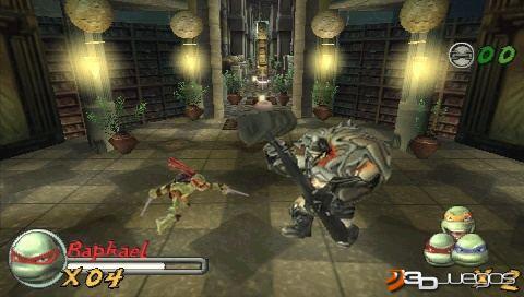 Anlisis de TMNT Tortugas Ninja Jvenes Mutantes para PSP  3DJuegos