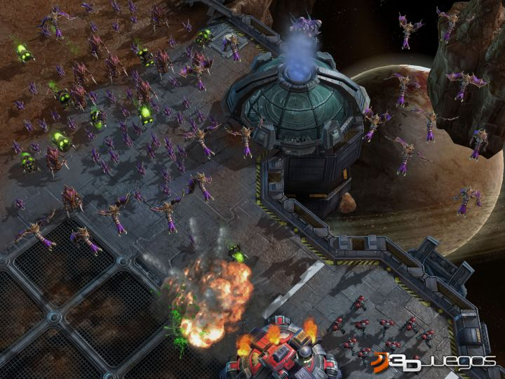 StarCraft 2 Wings of Liberty - Avance - Los Zerg