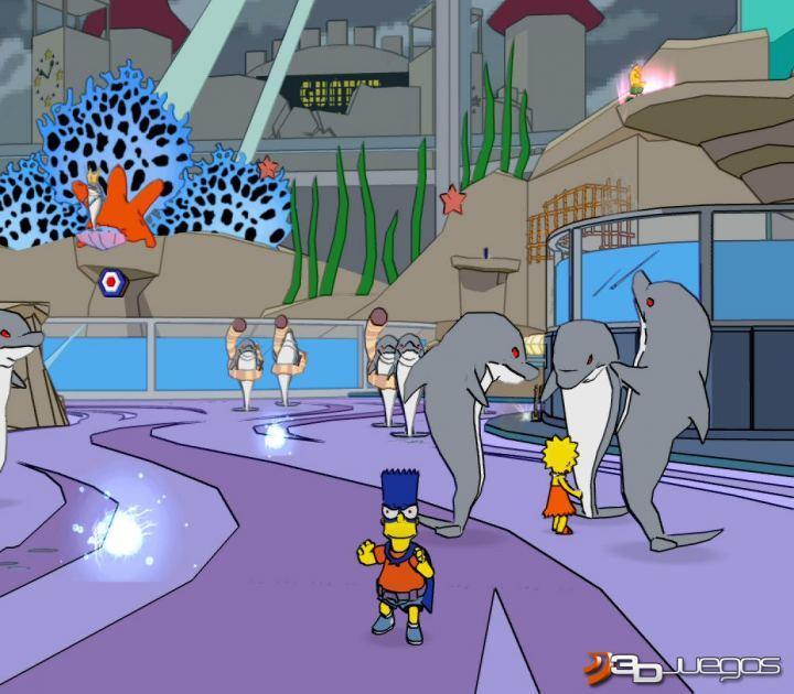 Anlisis de Los Simpson El Videojuego para PS2  3DJuegos