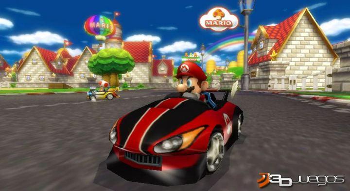juego de mario car: