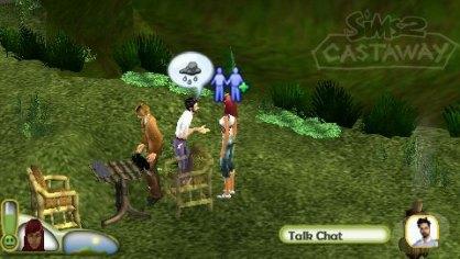 Los Sims 2 Náufragos (PSP)