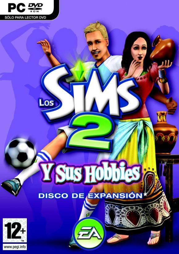 Carátula de Los Sims 2 y sus Hobbies