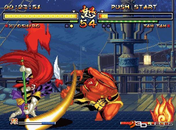Imagen Samurai Shodown Anthology (Wii)