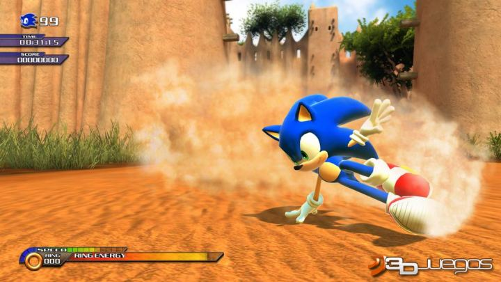 Sonic Unleashed - Avance