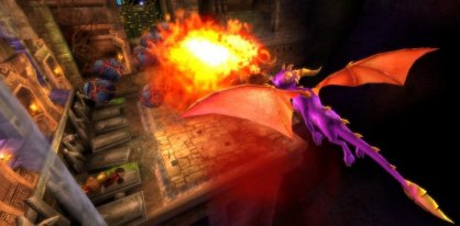 Spyro: La Fuerza del Drag&oacute;n Wii