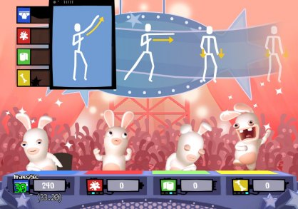 Rayman Raving Rabbids TV Party (Nintendo Wii)