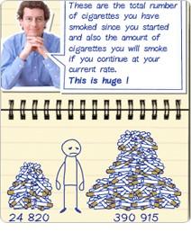 Ha dejado a fumar que limpiar el organismo