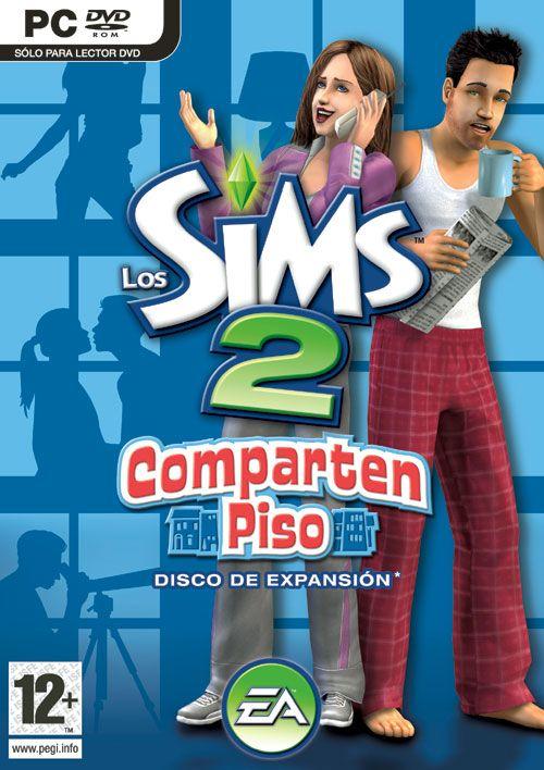 Carátula de Los Sims 2: Comparten piso