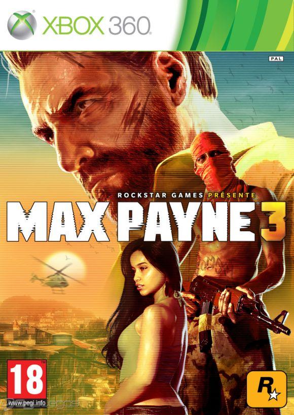 Carátula de Max Payne 3