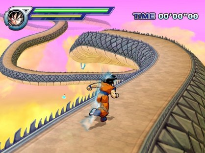 Dragon Ball Z Infinite World (PlayStation 2)