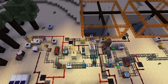 Как сделать нефтеперерабатывающий завод в minecraft