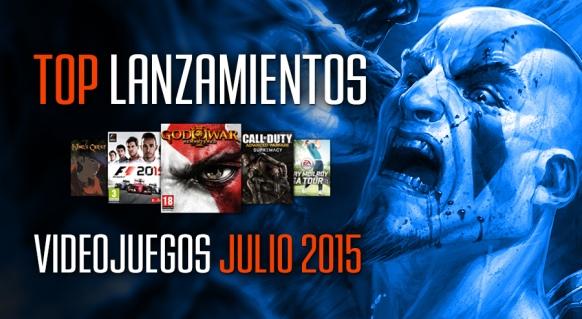 Reportaje de Lanzamientos: Julio 2015