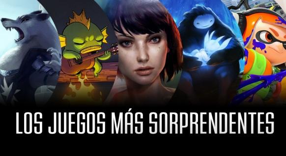 Reportaje de Los Juegos m�s Sorprendentes de 2015