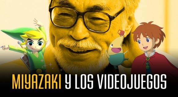 Reportaje de Miyazaki y los videojuegos