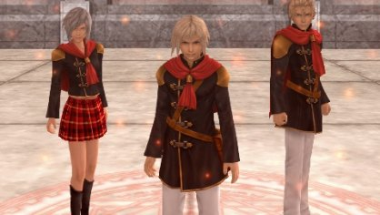 Final Fantasy Type-0: Final Fantasy Type-0: Primer contacto