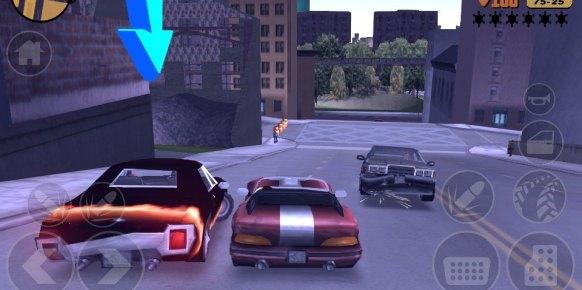 Grand Theft Auto III (iPad)