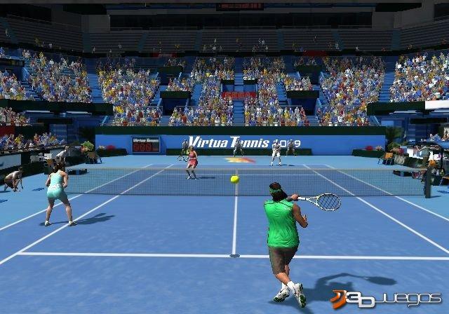 Virtua Tennis 2009 - Impresiones jugables