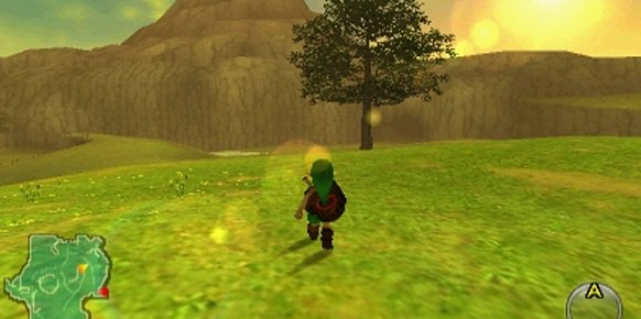 Zelda Ocarina of Time (3DS)