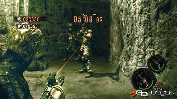 Resident Evil 5 Versus - An�lisis