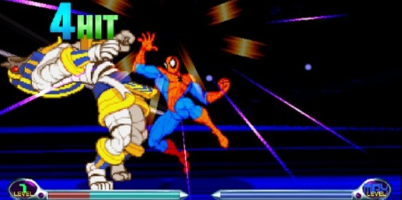 Marvel vs. Capcom 2 iPhone
