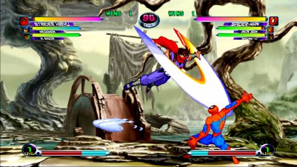 Marvel vs. Capcom 2 an�lisis