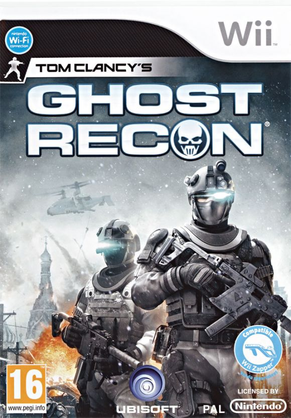 Car�tula de Ghost Recon