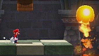 Video Super Mario Galaxy 2, Gameplay: La fortaleza de fuego