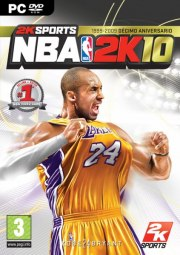 Car�tula oficial de NBA 2K10 PC