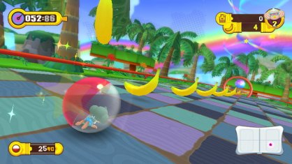 Super Monkey Ball Step & Roll (Nintendo Wii)